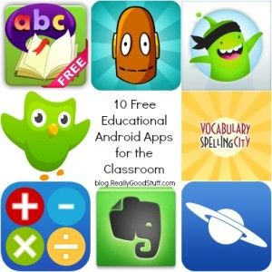 10 Free Educational Android Apps for the Classroom