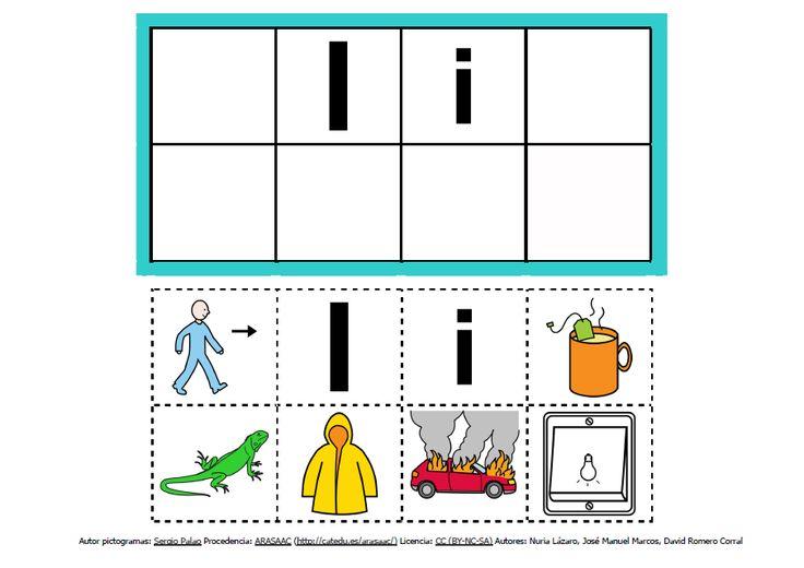 Abecedario con pictogramas: I http://informaticaparaeducacionespecial.blogspot.com.es/2013/09/abecedario-con-pictogramas-de-arasaac.html
