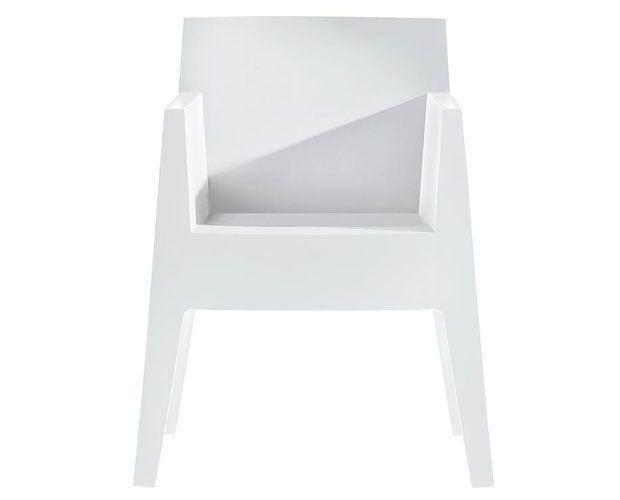 Toy chair white | chair . Stuhl .  chaise | Design:  Philippe Starck|