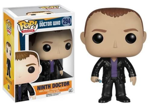 The Doctor is in! This Doctor Who Ninth Doctor Pop! Vinyl Figure captures the likeness of Christopher Eccleston as the legendary Time Lord. Standing about 3 3/4 inches tall, this figure is packaged in a window display box. Ages 14 and up. #funko #popvinyl #actionfigure #collectible #DoctorWho #NinthDoctor