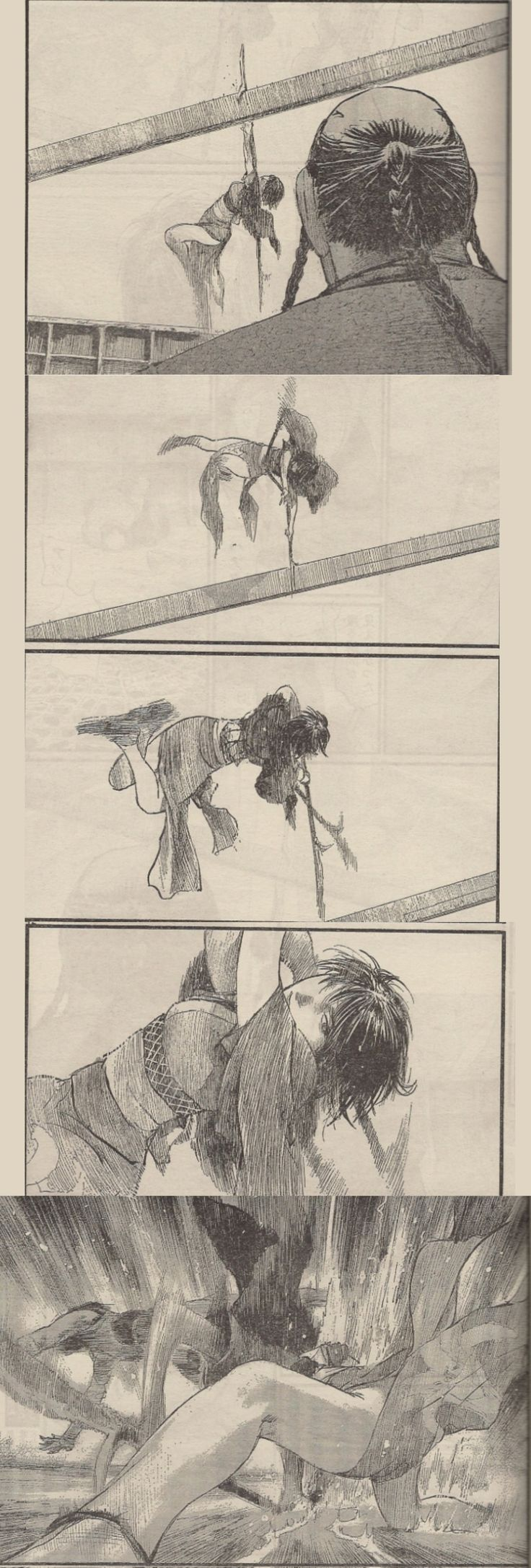 Blade of the immortal, Hiroaki Samura, Makie fight
