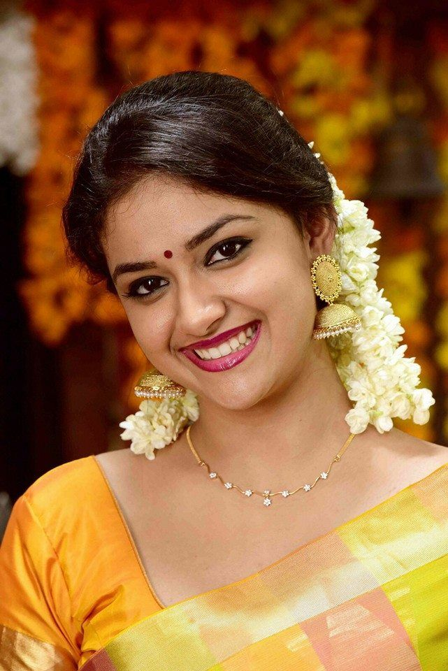 Keerthy Suresh | DOB: 17-Oct-1992 | POB: Chennai, Tamil Nadu | Occupation: Actress | #birthday #october #cinema #movies #entertainment