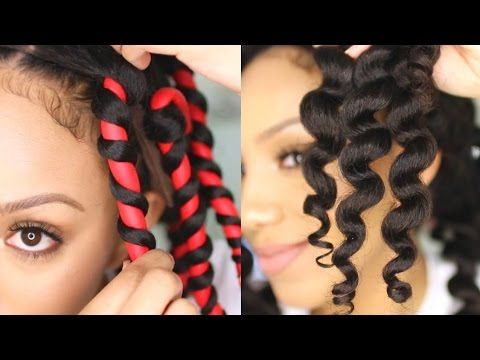 How to Get Perfect Flexirod Results on Natural Hair - YouTube