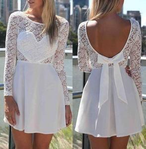 biała sukienka na Feegle http://feegle.pl/149532-bia%C5%82a-sukienka