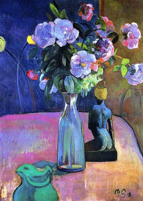ALONGTIMEALONE: bofransson: Vase with Flowers - Paul Gauguin