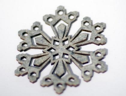 Snowflake Felt Coasters