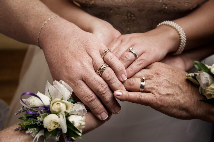 A mother's love. Generations of rings. Photo by Rollun Temperosa photography in Winnipeg, Manitoba #wedding #bride #weddinginspiration #photoinspiration #itsallinthedetails #winnipegweddings #inspiredeleganceevents