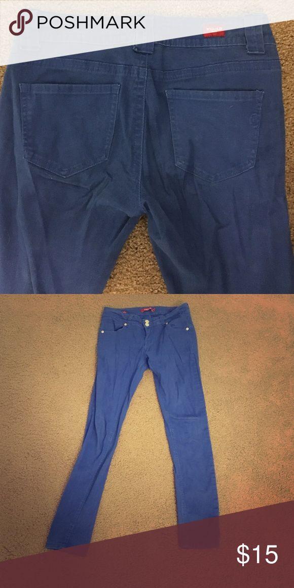 Royal blue skinny jeans Vigold Brand royal blue skinny jeans size 28, or 5/6. Great condition Jeans Skinny