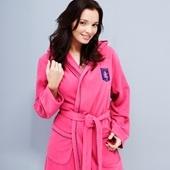 Aston Villa Superoft Micro Fleece Robe - Pink - Womens