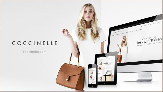 Discover the exciting Coccinelle world in the new institutional website  www.coccinelle.com #coccinelle
