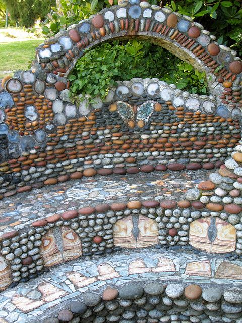 303 Best Images About Rustic Gardens Stone Art On Pinterest