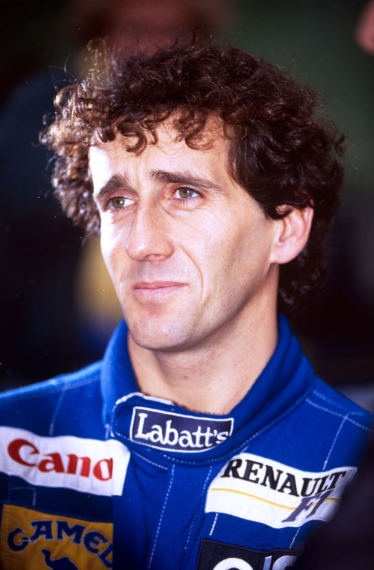 Alain Prost (France) won the Formula 1 World Championship driving for McLaren in 1985, 1986 and 1989, and for Williams in 1993