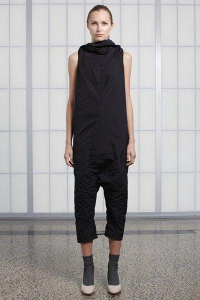 s/s 13/14 womens key looks - W15. jumpsuit in nero.