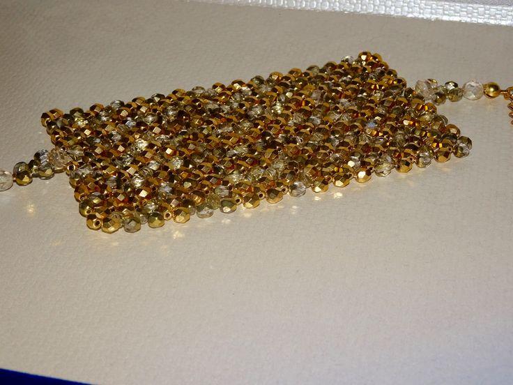 Bracciale elegante in oro ispirato a Klimt