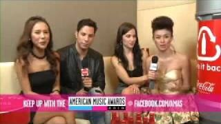 "Agnes Monica ""2010 AMA Nominations Announcement Highlights"", via YouTube."