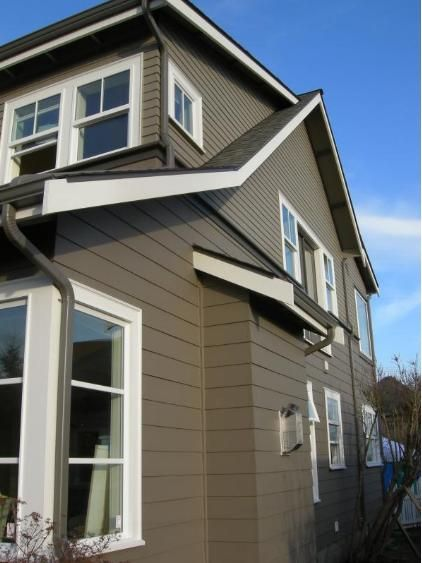 I like the materials (for an addition) House exterior siding