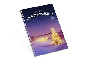 5 kuvakirjaideaa lahjaksi: Pieni joululaulukirja, lempijoululaulujen sanat koottuna laulukirjaan lahjaksi sukulaisille. Selaa kuvakirjaa ja inspiroidu! http://www.ifolor.fi/inspire_joululahjakirjat