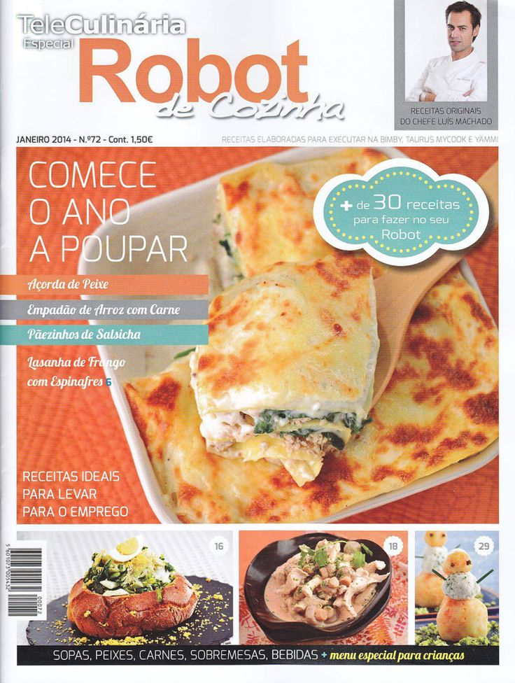 TeleCulinária Robot de Cozinha Nº 72 - Janeiro 2014