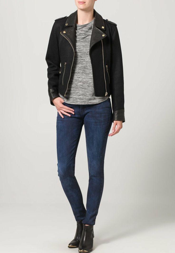 Oakwood - Veste en cuir - noir