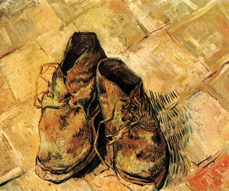 van gogh still life shoes - Google Search