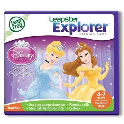 Leapfrog Enterprises Learning Game:disney Princesse (39041) - by LeapFrog. $30.48. Leapster - Learning Game: Disney Princesses