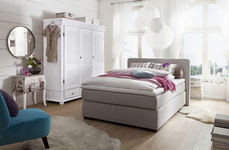 die besten 25 boxspringbett 140x200 ideen auf pinterest. Black Bedroom Furniture Sets. Home Design Ideas