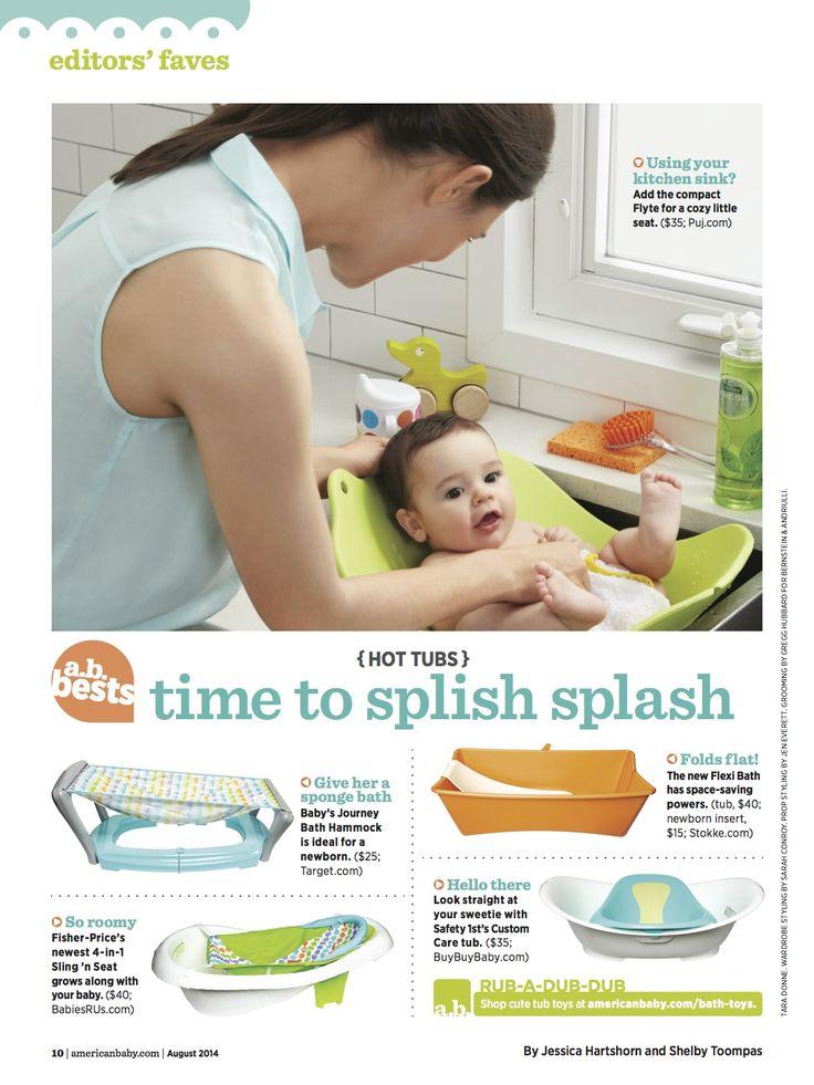 Editors @americanbabymag say #baby bath fave #Stokke #FlexiBath has ...