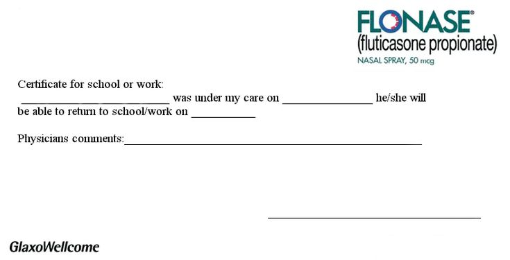 Blank Urgent Care Doctors Note | Gallery