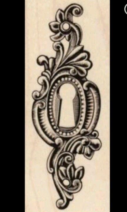 Keyhole Tattoo  Ink D  Keyhole Sternum  A Tattoo  Tattoo KeyholeAntique Keyhole Tattoo