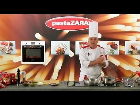 Lumaconi Pasta Zara with red pepper and double cream #recipes #Italy