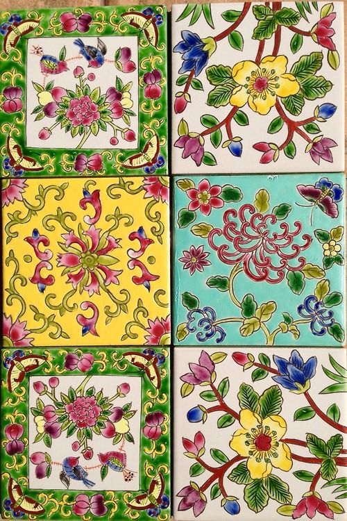 These look as if they may be Peranakan