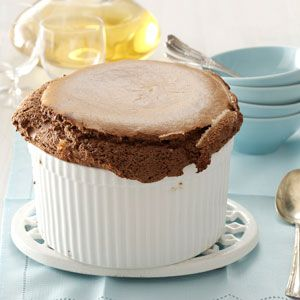 Hot Cocoa Souffle Recipe from Taste of Home -- shared by Joan Hallford of North Richland Hills, Texas