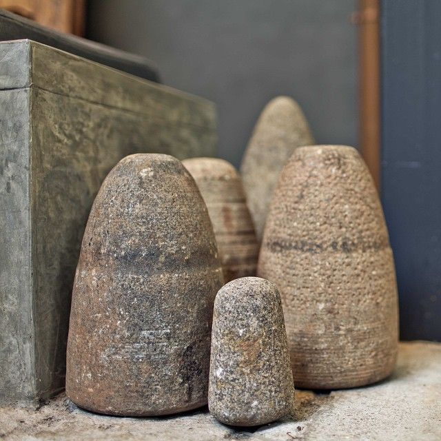 This is our fabulous stone cone collection in the patio #hotelbrummell #brummelldetail #hotel #barcelona