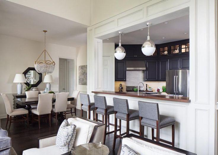 17 best ideas about pass through kitchen on pinterest - Open window between kitchen living room ...