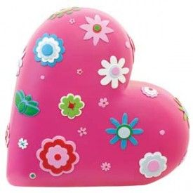 Bobble Art Money Box Heart