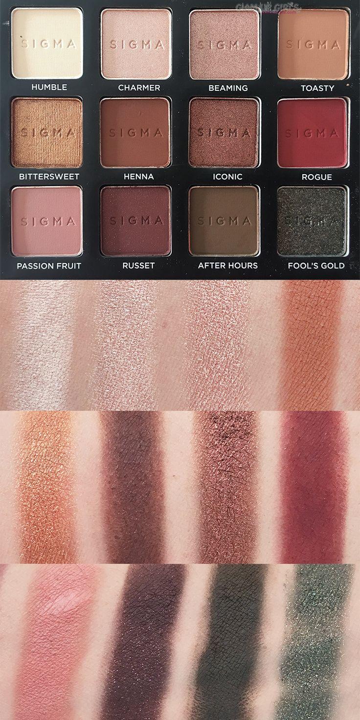 Warm Eyeshadow Palettes: Sigma Beauty Warm Neutrals Volume 2 Eyeshadow Palette