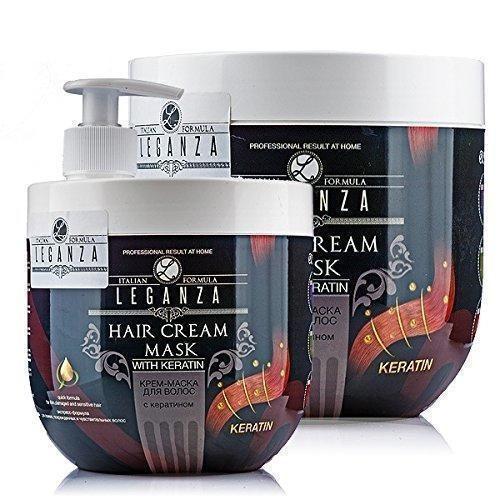 Oferta: 9.5€ Dto: -36%. Comprar Ofertas de Máscarilla crema para el cabello con keratina leganza barato. ¡Mira las ofertas!