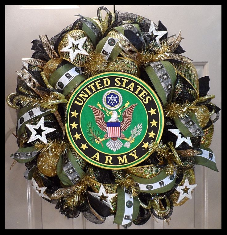 United States Army Wreath from www.facebook.com/overthetopwreaths