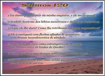 Palavra e Ação : Salmo 120 Comentários Pr Heber Toth Armí