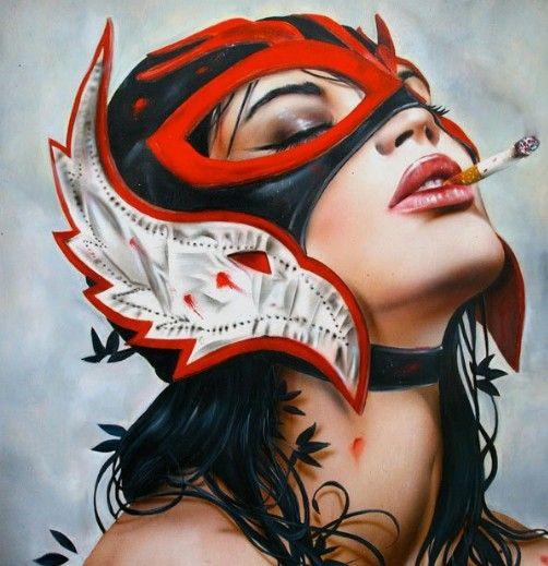 Lucha Libre - Brian Viveros