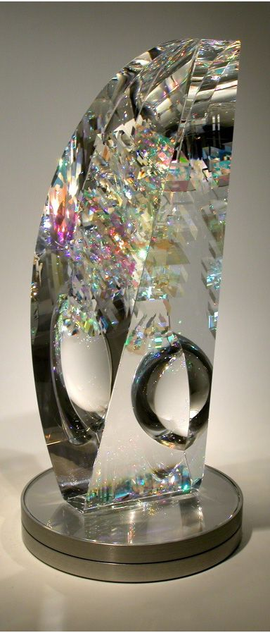 Toland Sand. Glass artist