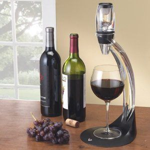 Vinturi Deluxe Red Wine Aerator Gift Set by EXICA INC VINTURI at the CellarsOfWine.com - Repin, Like & Share - Thanks! #Wine