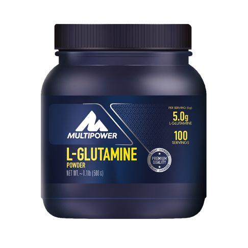 Multipower Romania magazin online de suplimente nutritive pentru sportivi | Gama completa de suplimente culturism, suplimente fitness si suplimente energizante. L-Glutamine Powder de la Multipower ofera 5 g de glutamina per portie si nu contine gluten sau aspartam