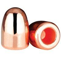 """Berry's 380 Caliber (.356"""") 100 Gr. Hollow Base Round Nose Plated Reloading Bullets (Box of 250)"""