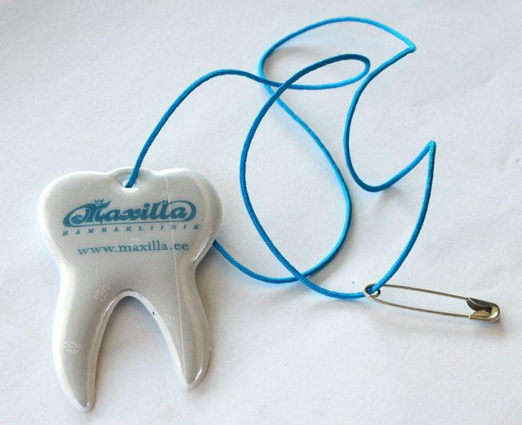 Hambakujuline Helkur - Maxilla - http://reklaamitootja.ee/helkurid/