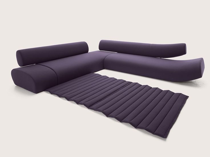 Design Upholstered Sofa LAVA COR Recoger Pliegue Como