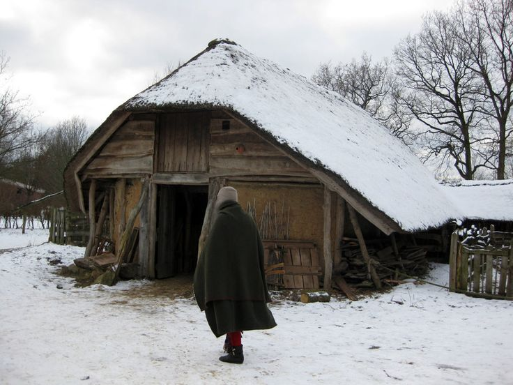 medieval farm winter rural deviantart houses village farming paganroots ages middle fantasy viking dark saxon anglo log castle tiny vikings