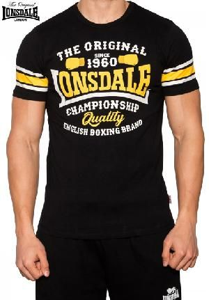 e55227743d5a Ropa   Lonsdale london   (ref. lonsdale 520) camiseta ajustada rayas mangas  -