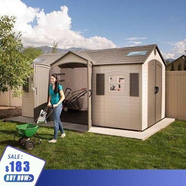 Large Storage Space Household Storage Shed Backyard Sheds Plastic Storage Sheds Shed