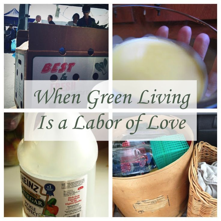 When Green Living is a Labor of Love